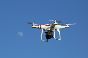 Will drones be the future of the delivery industry? (photo by Don McCullough)